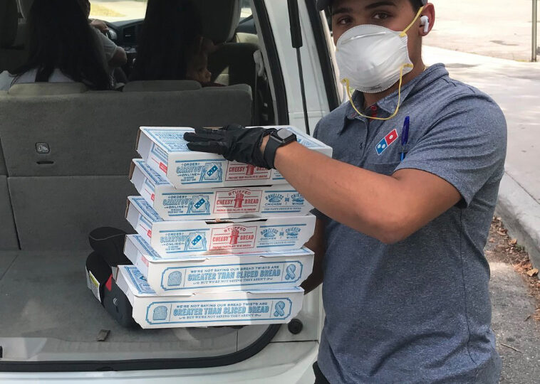 Domino's delivers during third quarter