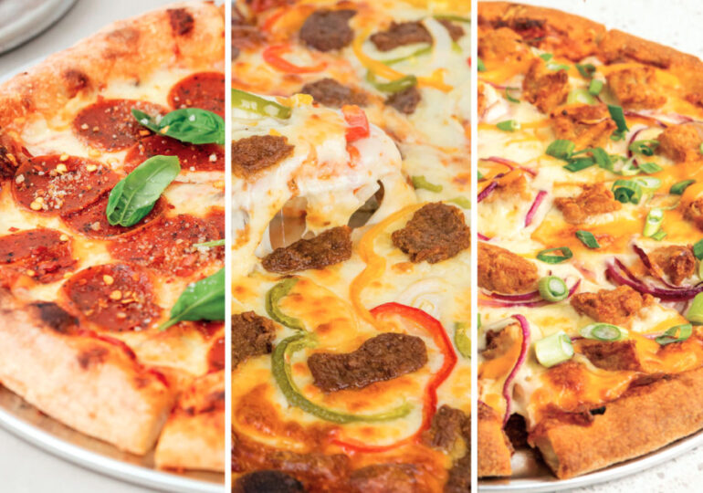 Dr. Praeger's offers plant-based pizza toppings