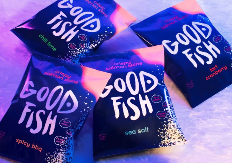 Goodfish launches upcycled sustainable seafood snacks