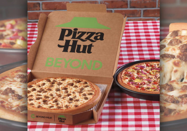 Pizza Hut partners with Beyond Meat on two new pizzas