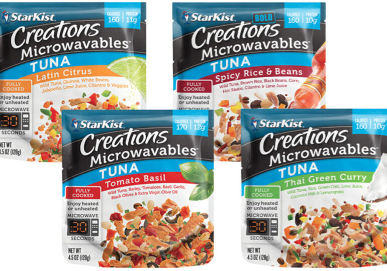 Starkist launches microwavable tuna with vegetables and grains