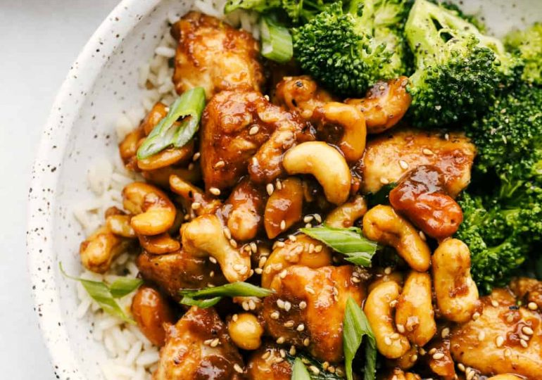 Cashew Chicken (Way Better than Takeout!)