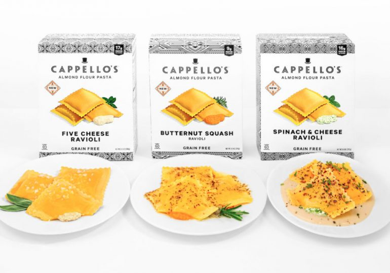 Cappello's releases ravioli made with almond flour