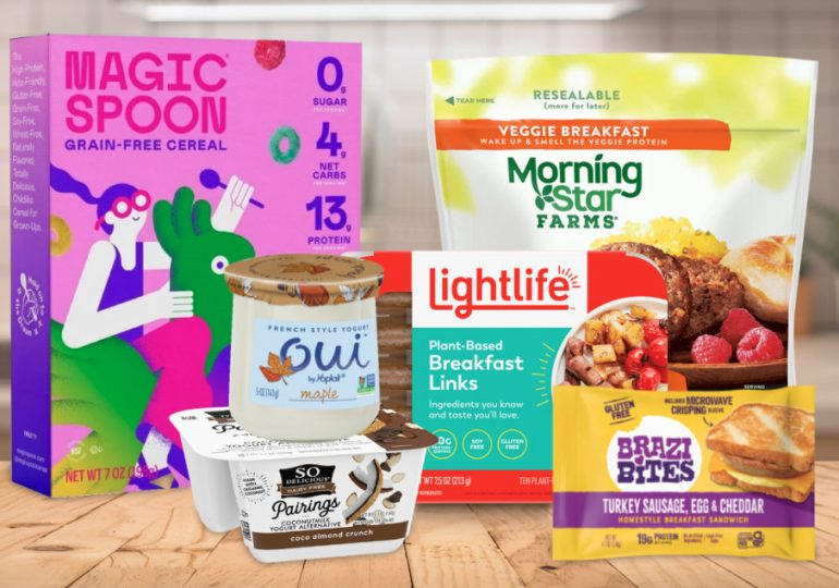 Plant-based, low-sugar shaping breakfast trends