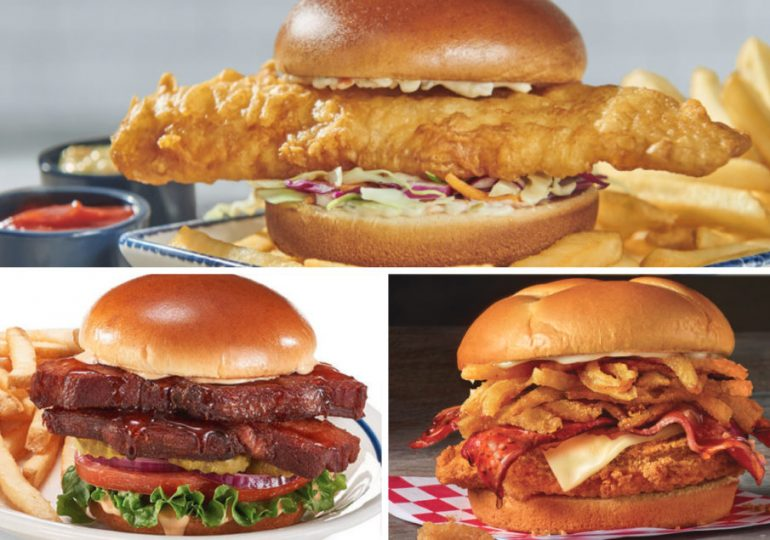 Slideshow: New menu items from Red Lobster, IHOP, Checkers and Rally's