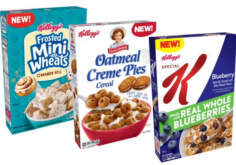 Kellogg first quarter sales, earnings strong