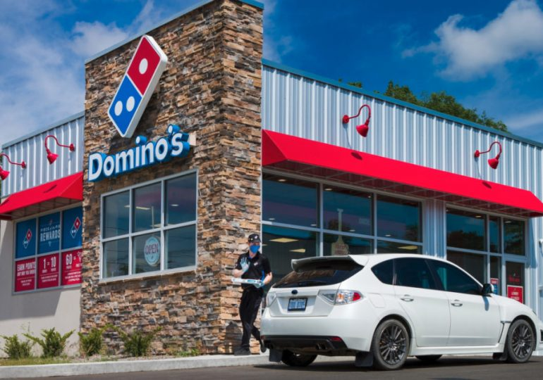 With delivery surging, Domino's aims to improve carryout