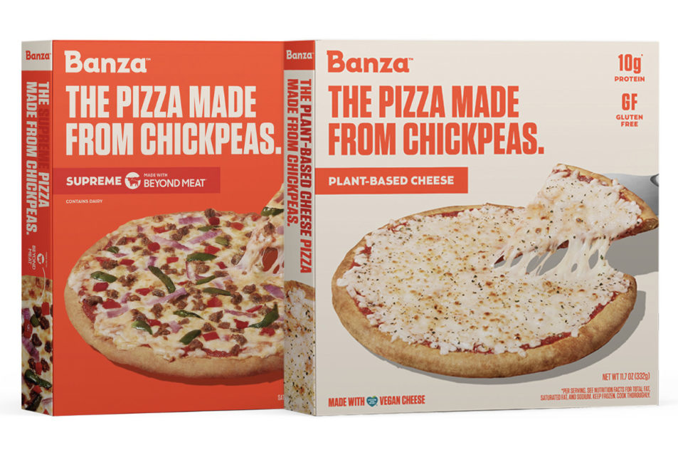 Banza teams with Beyond Meat, Follow Your Heart on new pizzas