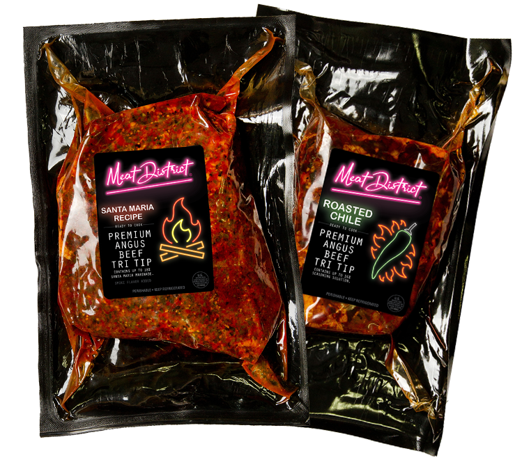 Roasted Chile and Santa Maria BBQ from the Meat District