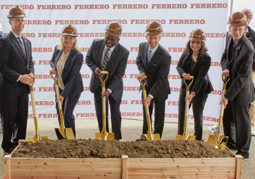 Ferrero breaks ground on expansion project